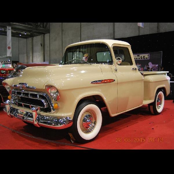 Jajaran Pick Up Truck Chevrolet Klasik Kastem Pukau Para Kolektor