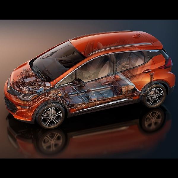 Chevrolet Bolt Generasi ke-2 Pakai Baterai Lebih Besar