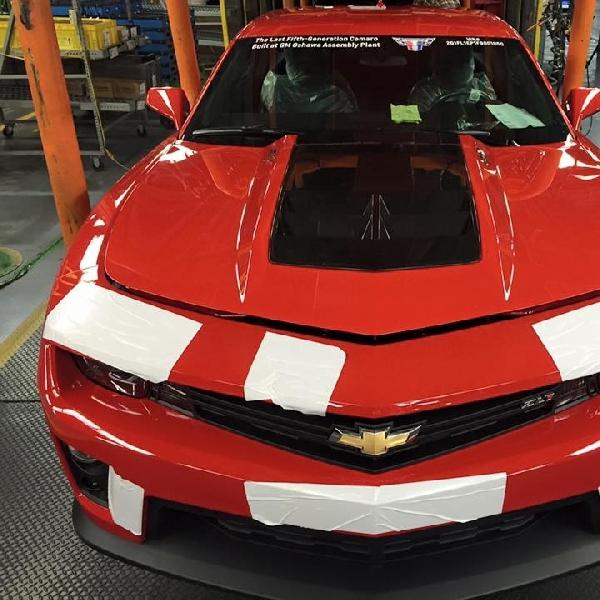 Produksi Chevrolet Camaro Gen 5 Selesai