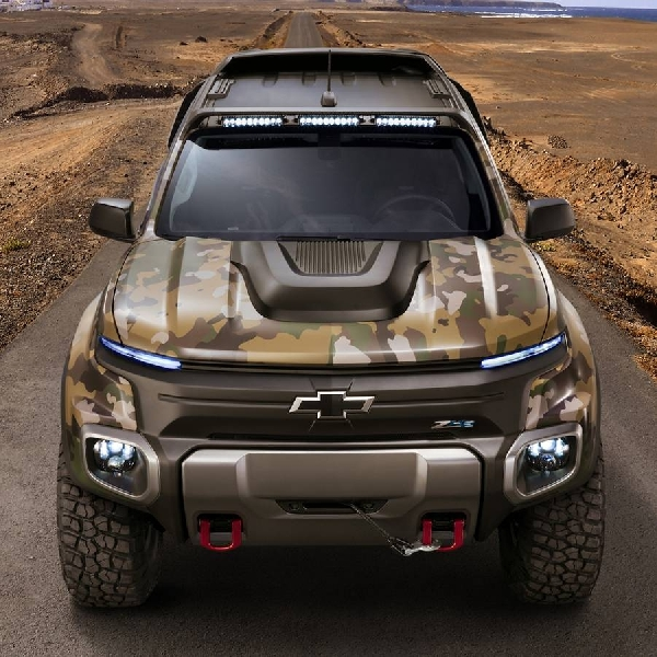 Chevrolet Colorado ZH2, Berteknologi FCEV untuk Perang