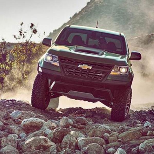 Chevrolet Colorado ZR2, Berteknologi DSSV untuk Rock Crawling dan Off Road