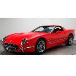 Modifikasi Chevrolet C5 Corvette Z06 Retro, Melangkah  ke Lelang Mecum