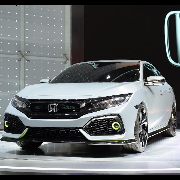 Civic Hatchback akan meluncur di Amerika Utara