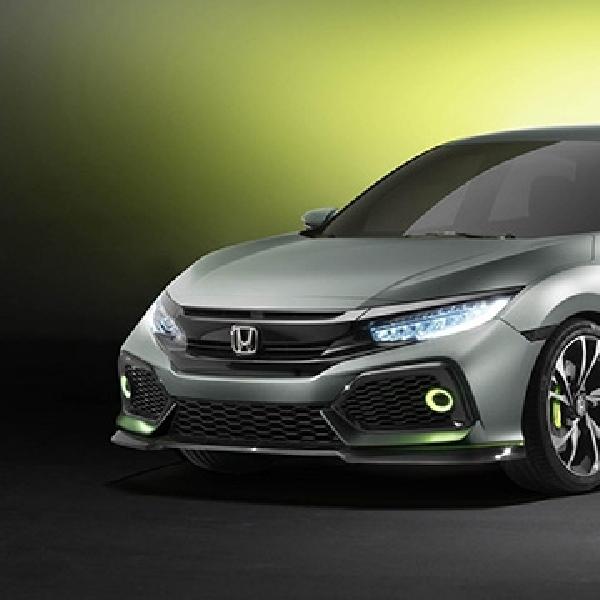 All New Honda Civic Hatchback Prototipe Sapa Pengunjung Geneva Motor Show 2016