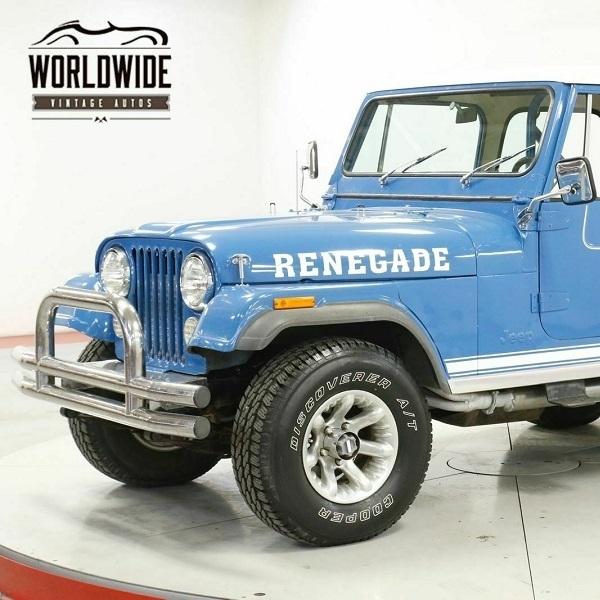 CJ Renegade, Obat Rindu Jeep Mesin V8