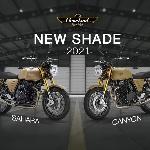 New Shade 2021 Canyon dan Sahara, Varian Warna Baru Cleveland Ace 400 Scrambler