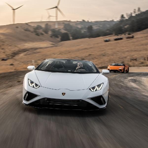 Convertible Terbaik tahun 2021: Lamborghini Huracan EVO RWD Spyder