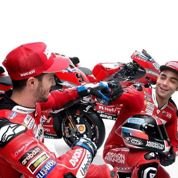 MotoGP: Ducati Pede dengan Duet Pembalapnya