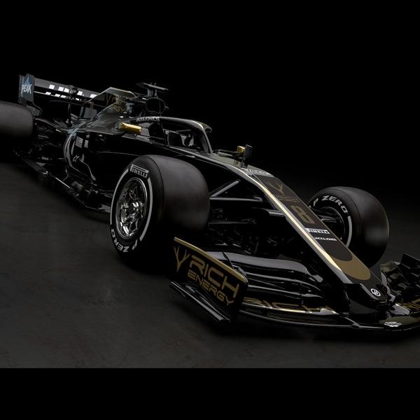 F1: Tim Haas Pamer Warna Mobil Baru untuk Arungi Musim 2019