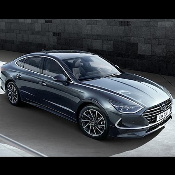 Mengintip Wujud Asli Hyundai Sonata Terbaru
