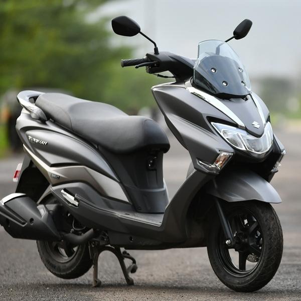 Suzuki Siap Ramaikan Persaingan Skutik Premium di Indonesia?