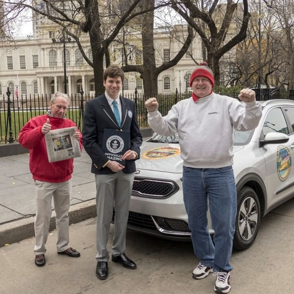 Crossover KIA Niro Sabet Guinness World Record