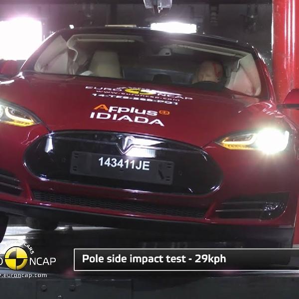 Tesla Raih Bintang 5 Uji Tes Euro NCAP