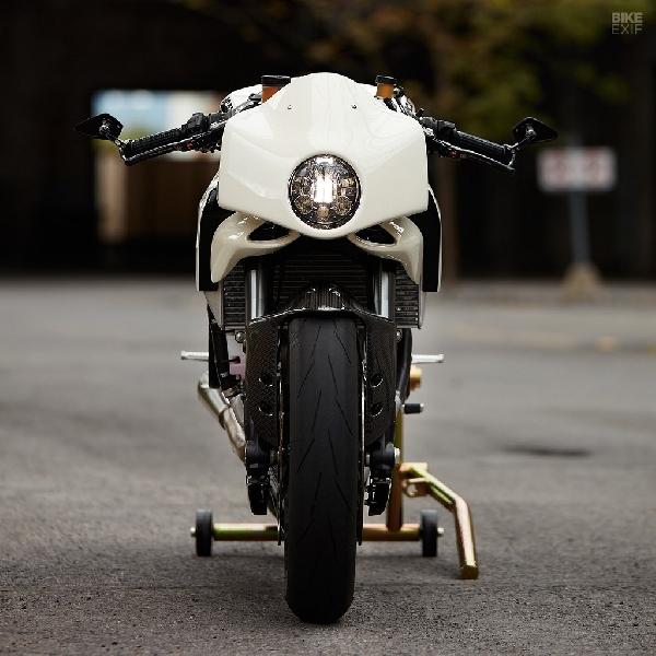 Kesan Beda Modifikasi Ducati Panigale 899 2014 ala Mr Motorcycles