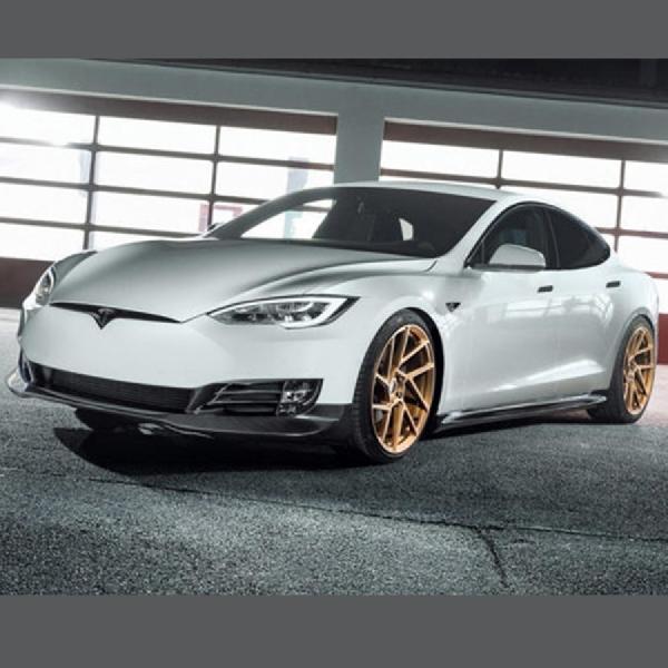Modifikasi Tesla Model S, Lebih Aerodinamis dan Elegan