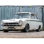 1966 Ford Lotus Cortina Hadir di Autosport International NEC