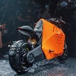 Da Vinci DC 100 135hp, Electric Motorcycle yang bisa mengikuti Anda Jogging