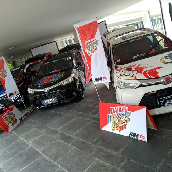 Adu Kreativitas Modifikasi di Daihatsu Dress-Up Challenge 2018