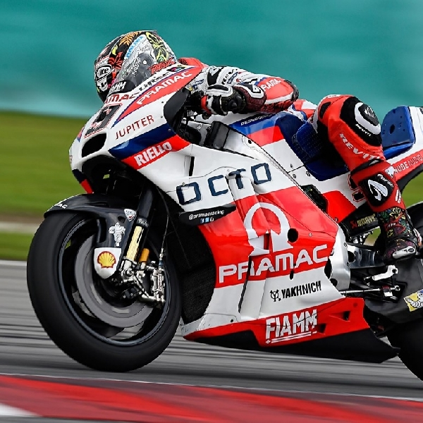 MotoGP: Danilo Petrucci Atasi Lorenzo di Hari Kedua