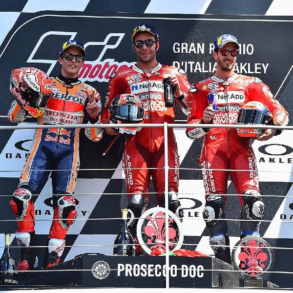 MotoGP: Ducati akan Bersaing Dengan Pembalap Terkuat Sepanjang Sejarah