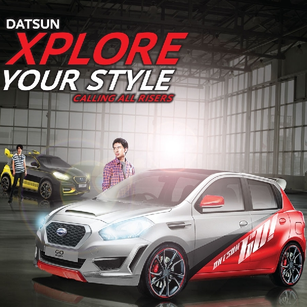 Datsun Xplore Your Style 2016 Tantang Modifikator Medan