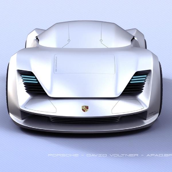 David Volter Ajukan Desain Mobil Otonom Kepada Porsche