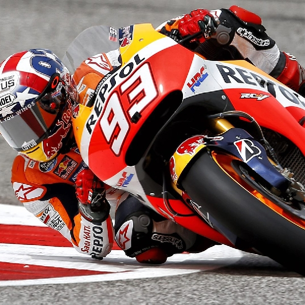 Marquez Tunjukkan Semangat pada MotoGP Thailand