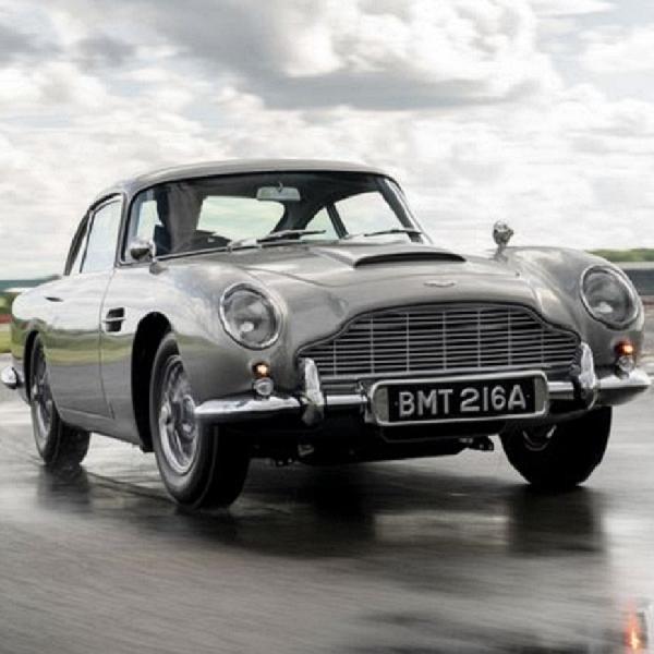 Aston Martin Rilis Goldfinger DB5 Lengkap dengan Gadget James Bond