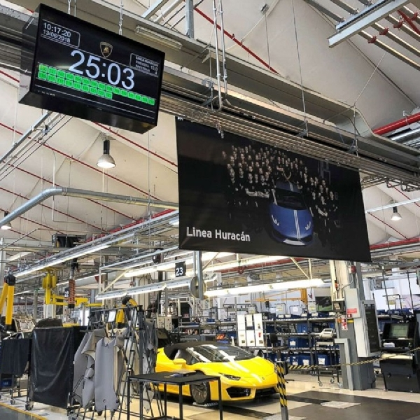 Pabrik Super Car Italia Pun Tutup Akibat Corona