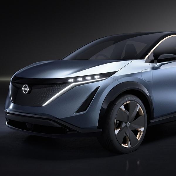 Nissan meluncurkan Konsep Ariya di Tokyo Motor Show