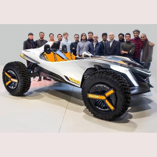 Hyundai Kolaborasi dengan IED Ciptakan Mobil Konsep Kite