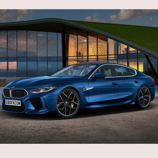 BMW M8 Gran Coupe akan Hadir Pakai Mesin M5