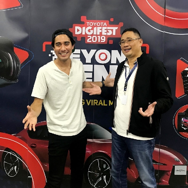 Ada Zach King di Booth Toyota GIIAS 2019
