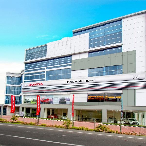 Honda Arista Ringroad Jadi Dealer Resmi Honda ke-4 di Medan
