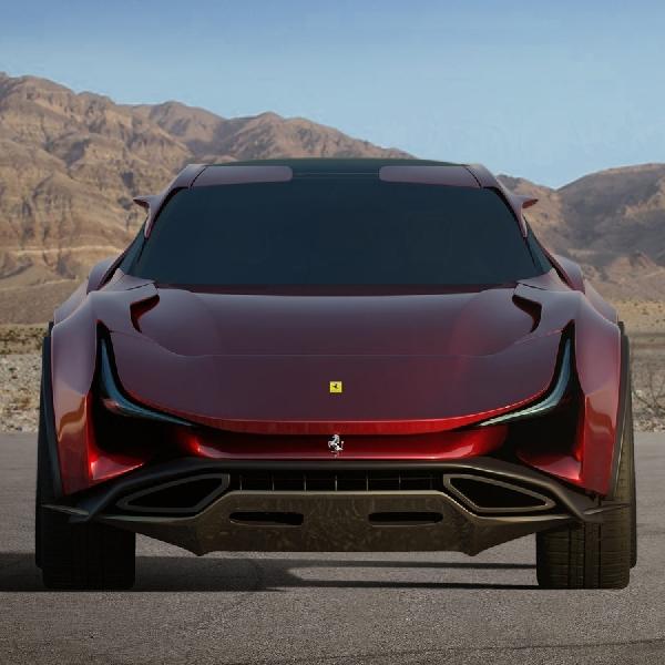 Desain Ferrari Simoom Akan Menjadi Rival Berat Aston Martin DBX