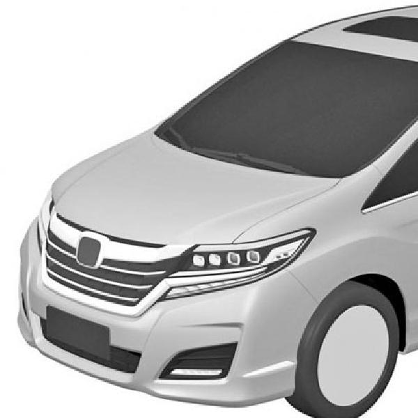 Desain Honda Odyssey Akhirnya Terkuak Lewat Gambar Paten