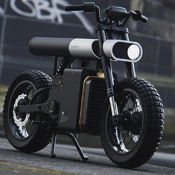 Desain Unik Sepeda Motor Listrik ini Terispirasi dari Kuda?