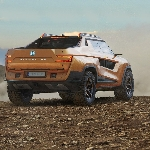 Desain Pickup Listrik Honda Ridgeline Masa Depan Karya Rene Garcia