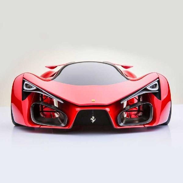 Detail Konsep Ferrari F80 dengan Sentuhan Futuristik