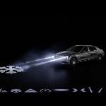 Teknologi Lampu Digital Mercedes Maybach Berkomunikasi Melalui Symbol