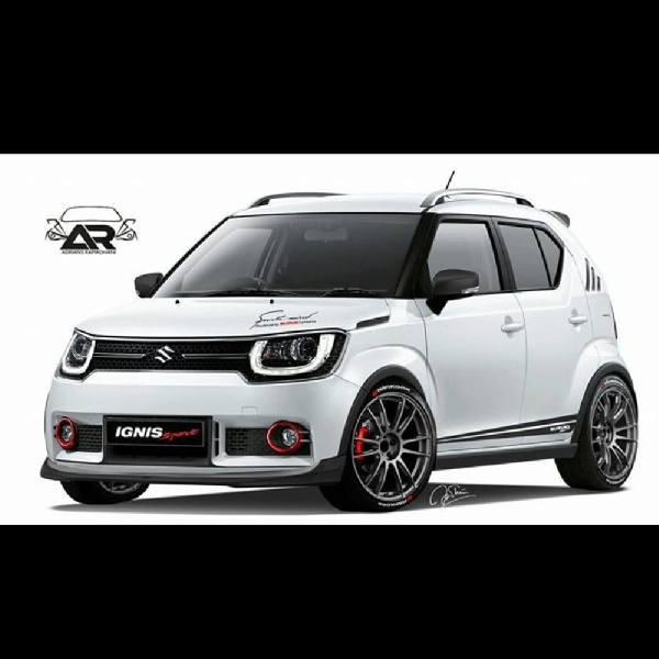 Upgrade Visual Nan Cantik - Rendering Suzuki Ignis