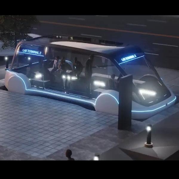 Boring Company Akan Membuat Kendaraan Khusus Pejalan Kaki