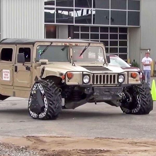 DARPA Kembangkan Kendaraan Taktis Terbaru