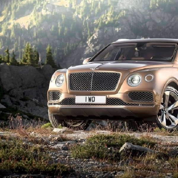 Disain Bentley Bentayga Coupe Sama dengan EXP 10 Speed 6 Concept