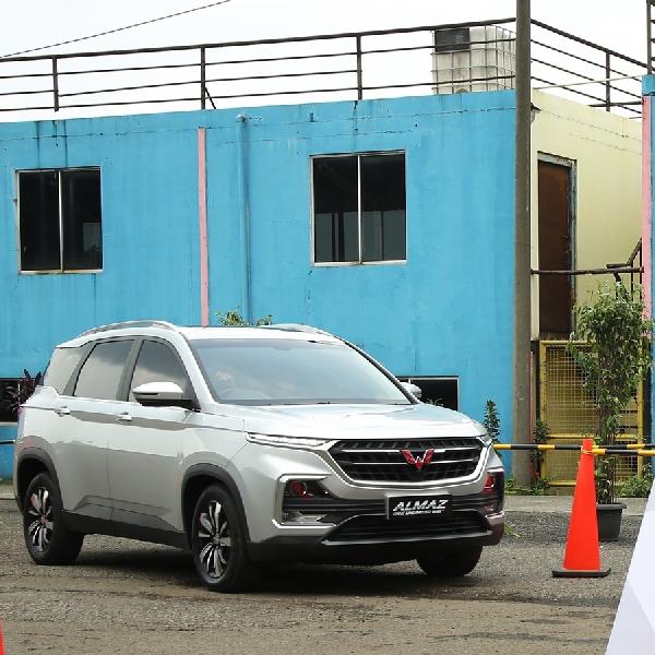 Wuling Almaz SUV Bertabur Fitur Smart Technology