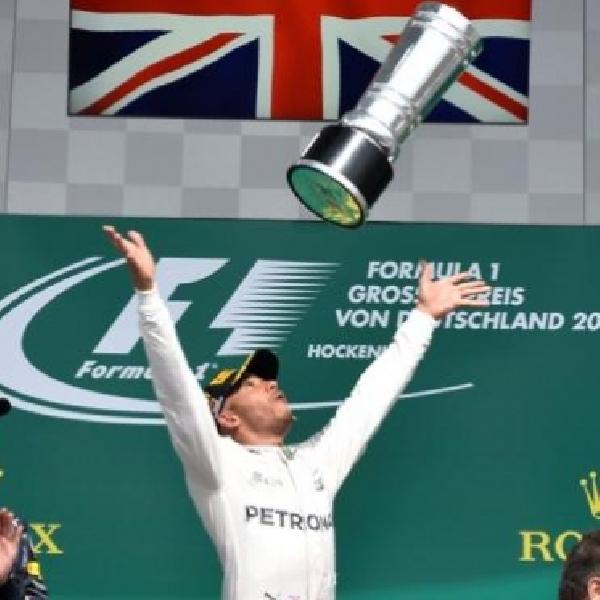 F1: Dominasi Penuh Lewis Hamilton di Gp Jerman