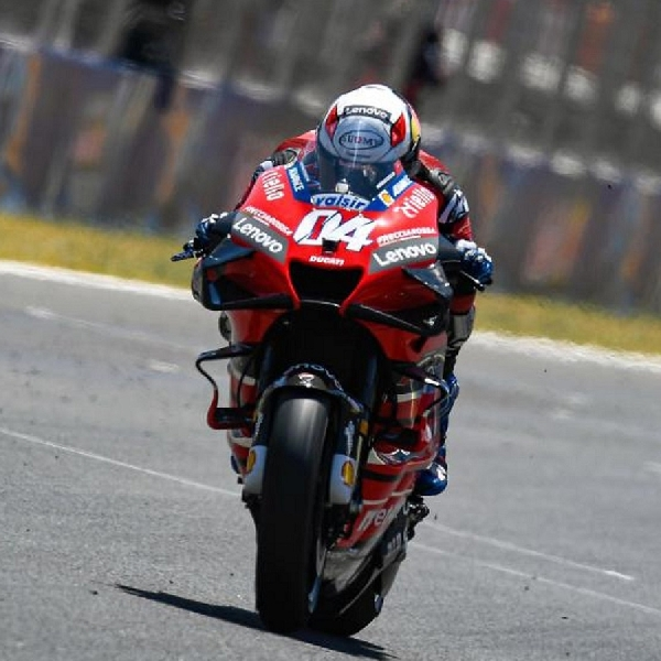 MotoGP: Kehilangan 'Feel' Dengan Motor Ducati, Begini Kata Andrea Dovizioso