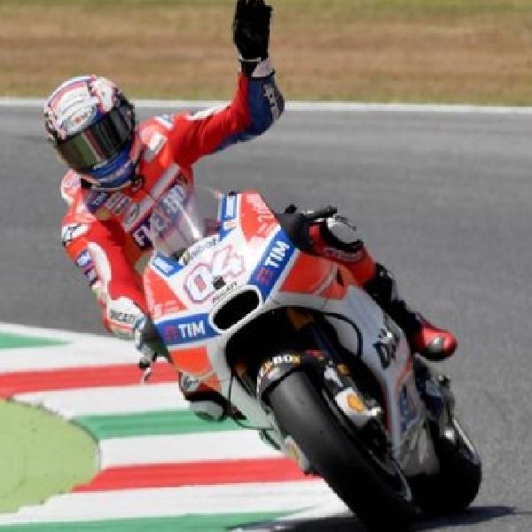 MotoGP: Dovizioso Bawa Ducati Taklukan Yamaha di Mugello