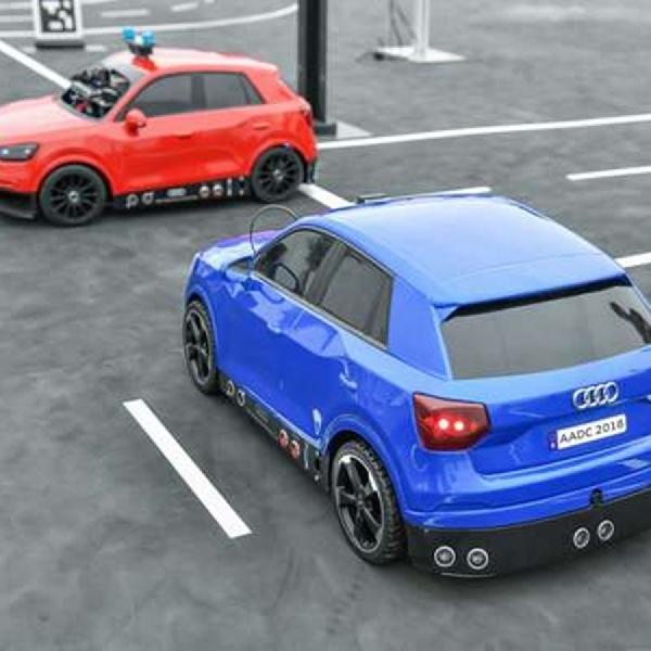 Audi Autonomous Cup, Cari Para Coder Otonom Masa Depan