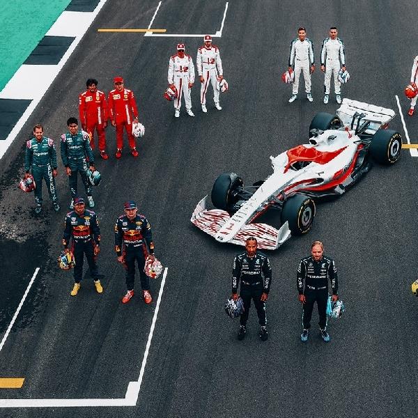 F1: Formula1 Resmi Memperkenalkan Mobil Balap 2022 Pertama Kalinya